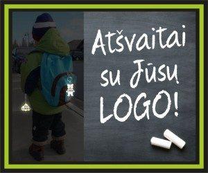 atsvaitai su logo
