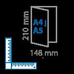 A4-į-A5
