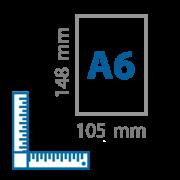 A6 skrajutės